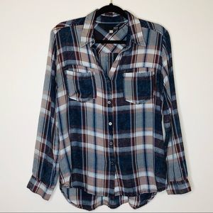 Kut from the Kloth | Plaid Top